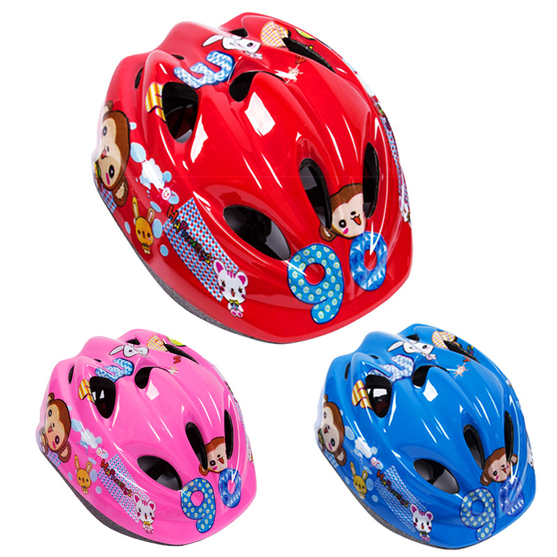 Children Roller Skating Helmet Protector Roller Skating Skateboard Bike Balance Car Protective Clothing Helmet Thick Safety Helm