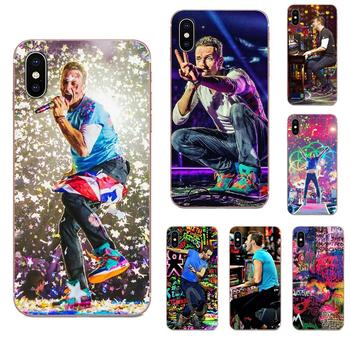 Chris Martin Coldplay Piano Viva La Live For Apple iPhone 11 Pro X XS Max XR 4 4S 5 5C 5S SE SE2 6 6S 7 8 Plus TPU Mobile Shell image