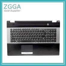 Новая клавиатура для ноутбука с тачпадом Упор для рук для samsung RC730 RC530 RC728 верхний чехол Корпус чехол US RU BA75-03203C