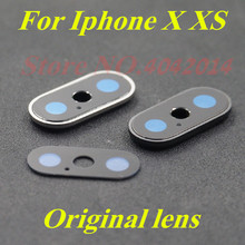 100% Original Rear Back sapphire Camera Glass Lens Cover For iPhone X XS max Mobile