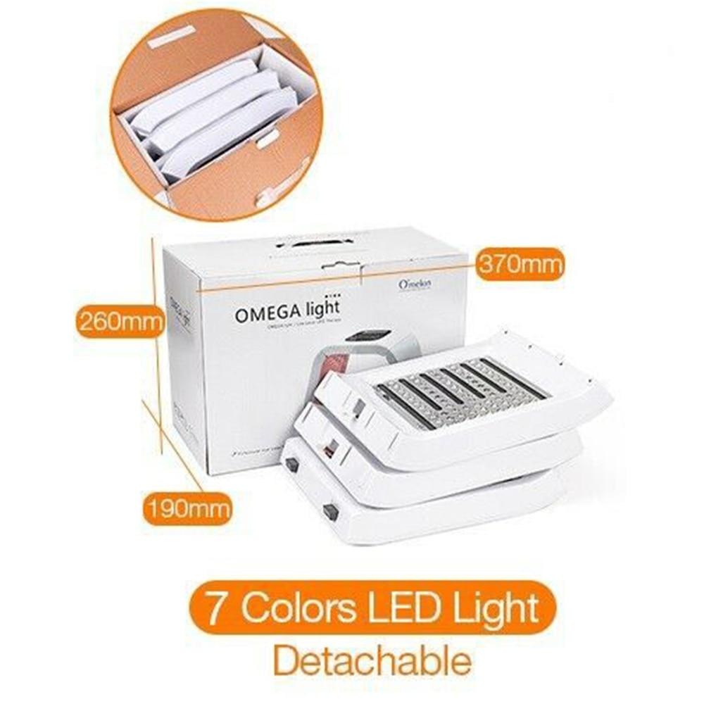 7 цветов фотон pdt светодиоды свет маска для лица против морщин лампа лечение кожи удаления акне оборудование для косметической терапии - 6