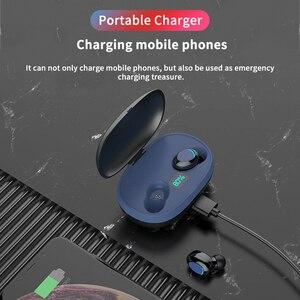 Image 2 - トゥーレワイヤレスヘッドフォン tws 5.0 Bluetooth イヤホンハイファイヘッドセットスポーツ IPX7 防水インイヤーイヤフォン睡眠