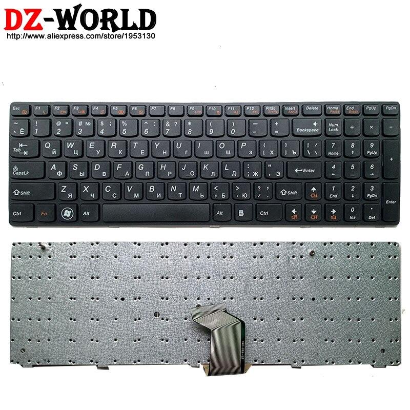Russian New Keyboard For Lenovo G580 Z580A G585 Z585 G590 N580 N581 N585 Laptop Teclado