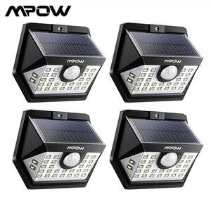 Image 1 - MPOW 30 LED พลังงานแสงอาทิตย์ Motion Sensor โคมไฟกลางแจ้ง 3 โหมด 270 มุมกว้าง Luz พลังงานแสงอาทิตย์ LED Para ภายนอก