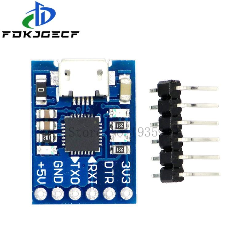 CJMCU – Module TTL MICRO USB à UART CP2102, convertisseur de série 6 broches, UART STC, remplace FT232