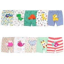 Shorts Toddler Baby-Girl Summer Newborn-Baby Elvesnest Cartoon Print Random-Color 3-24-Months
