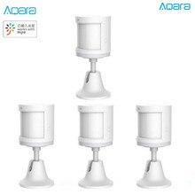 Vente en vrac mise à jour Aqara capteur de corps humain capteur de mouvement intelligent du corps Zigbee connexion pour lapplication Mi home via Android et IOS