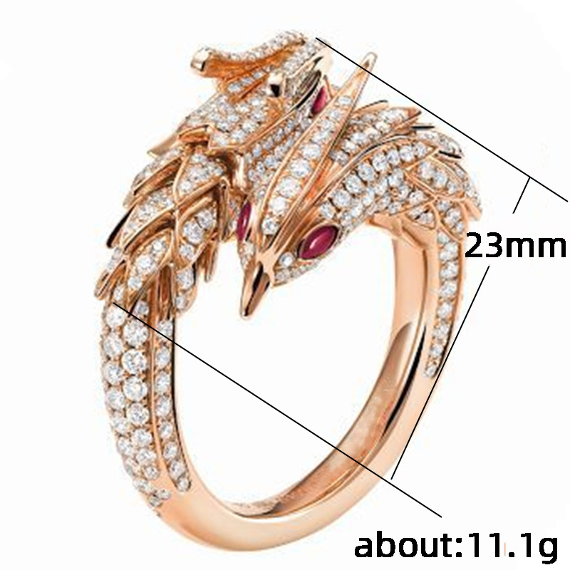 White gold dragon phoenix wedding rings steroids results 6 weeks