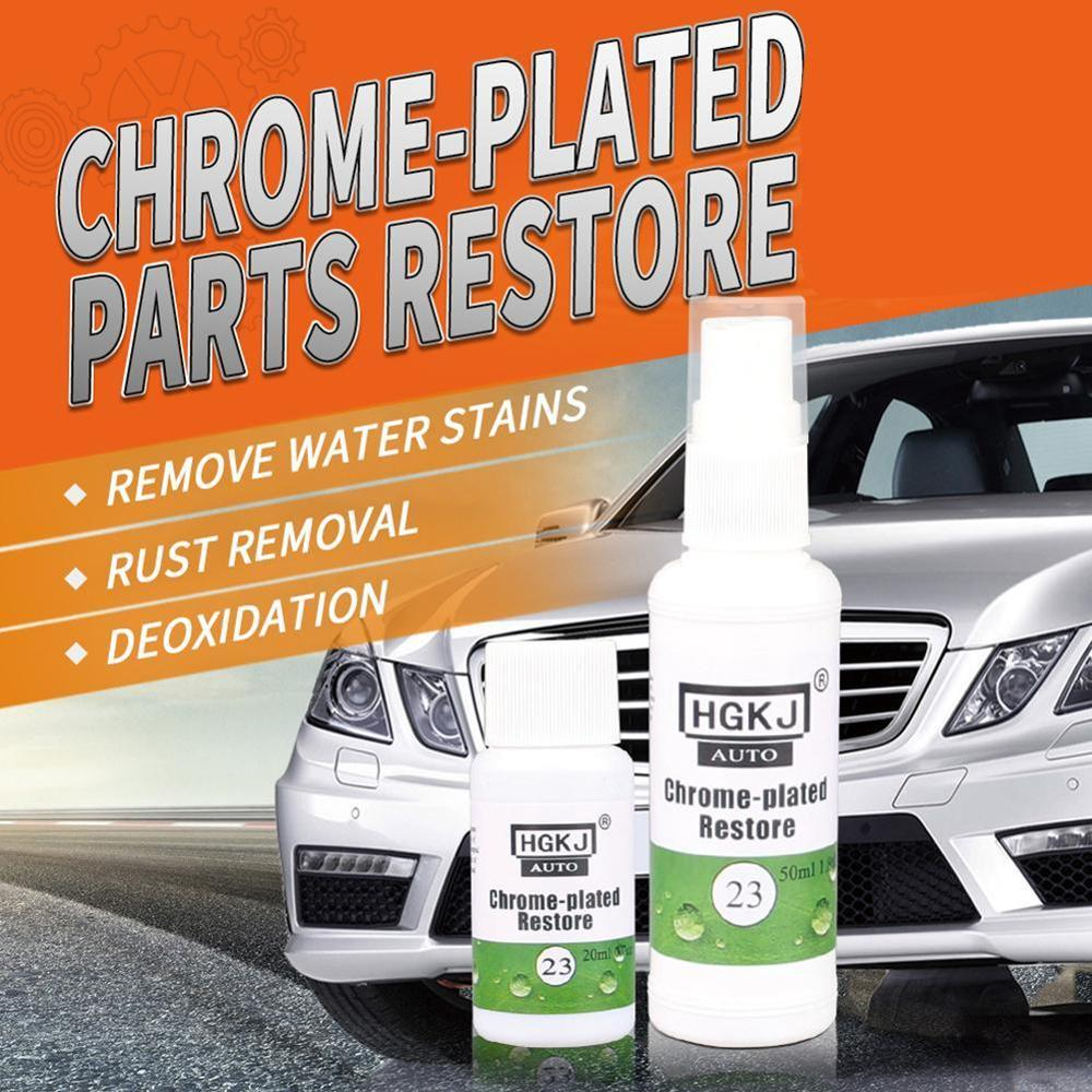 Universal 20/50ML Car Chrome Refurbishment Agent Car Standard Rust Refining Cleaning Agent Rust Inhibitor Rust Remover Dropship