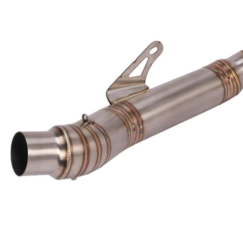 Купить полная выхлопная система передняя средняя труба из нержавеющей