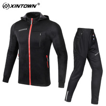 Майки для велоспорта, ветровка, зимний теплый водонепроницаемый костюм с длинными рукавами, qiu dong, куртки для улицы