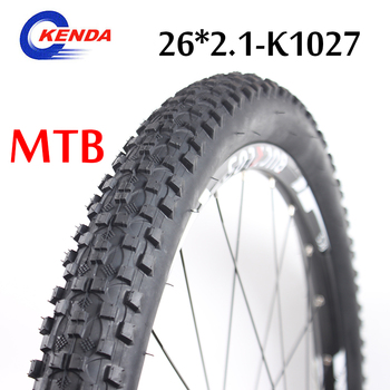 KENDA K1177 Bicycle Tyre 26*2.1/1.95 Mountain Bike Tire 22TPI 65PSI MTB K1027 Ultralight Non-slip Not Folded Cycling Tyre image
