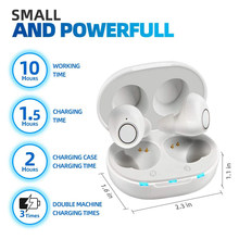 Intelligent Newest Style Hearing Aid Rechargeable Low-Noise Wide-Frequency One-Click Operation Elderly In-Ear Deaf Hearing Aids