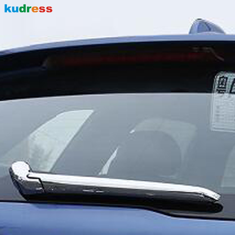 For <font><b>Volvo</b></font> XC60 <font><b>XC</b></font> <font><b>60</b></font> 2018 2019 SUV ABS Chrome Rear Window Wiper Arm Blade Cover Trim Protector Garnish Molding Car Styling image