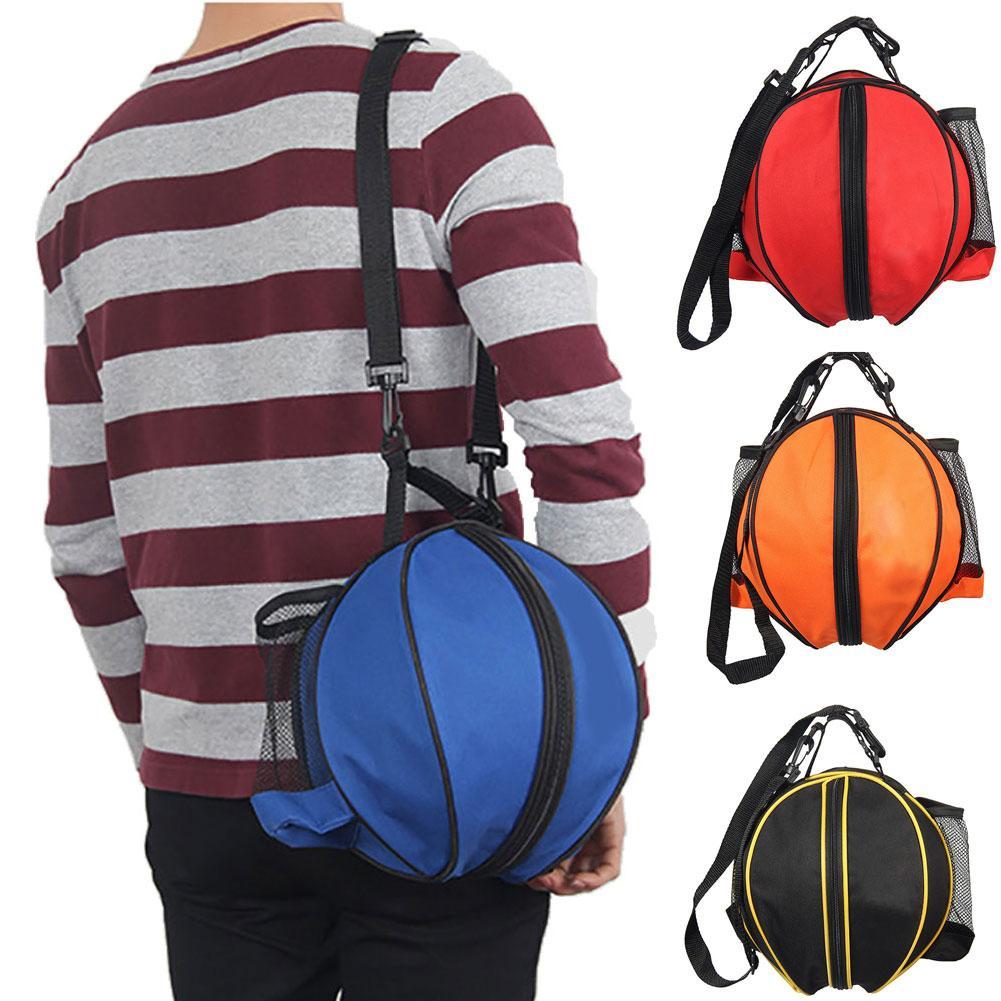 Портативная спортивная сумка через плечо для баскетбола, футбола, волейбола, рюкзак для хранения, сумка для баскетбола, футбола, рюкзак для волейбола-0