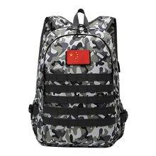 Acampamento mochila militar saco de viagem dos homens sacos caminhadas ao ar livre esporte bagpack multifuncional camuflagem ciclismo frango jogo