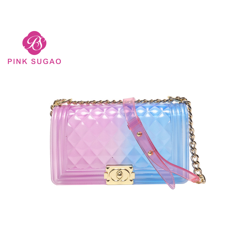 Pink Sugao crossbody bags for women luxury handbags women bags designer girls jelly bag clear handbags purses transparent bag