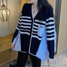 Женский свитер с длинным рукавом xuxi Модный корейский Кардиган