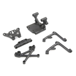 FBIL-Front Bulk Head Set for 1/5 HPI Rovan Baja 5B 5T 5SC Vehicles Remote Control Toys for Bajas