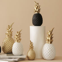 Смола Скандинавское золотое украшение ананас скульптура Гостиная