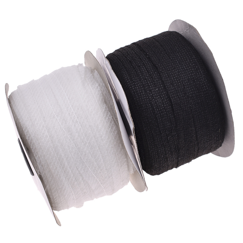 100m Fusible Single Side Self-Adhesive Interlining Cloth Tape Non-woven Fabric For DIY Sewing Lining Supplies