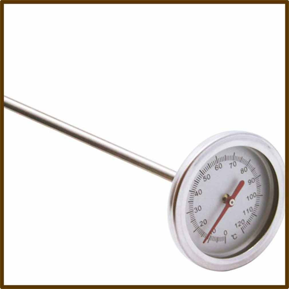 detector de sonda de medici/ón de acero inoxidable de grado alimenticio Haude Term/ómetro de compost de 50 cm de largo