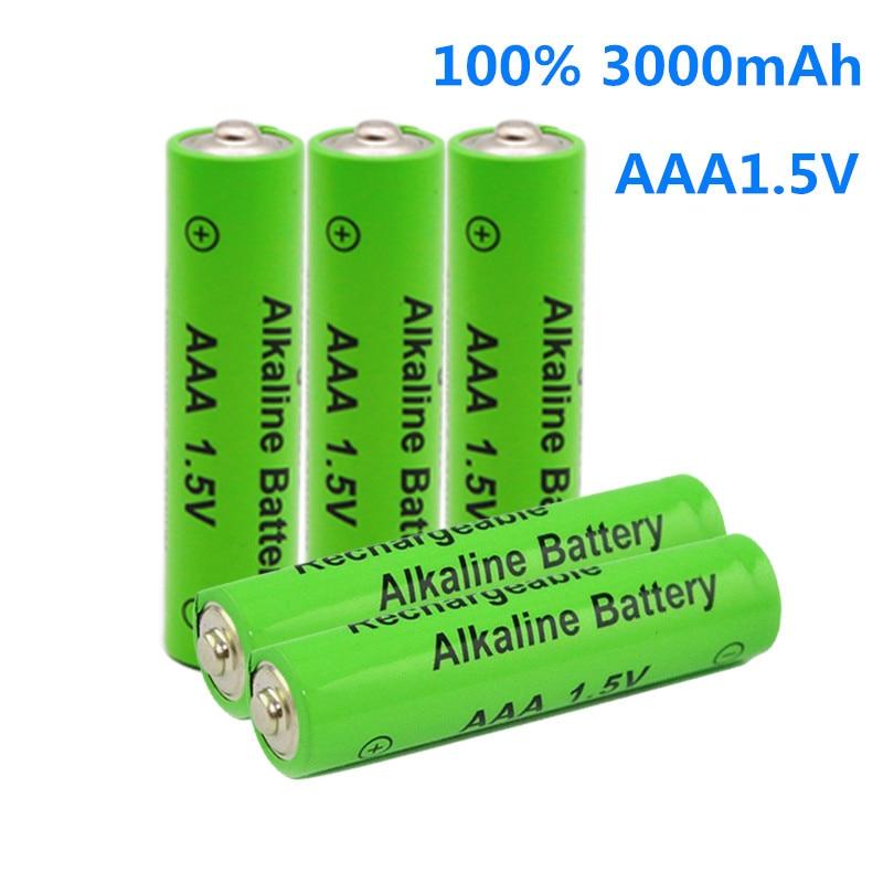 AAA 3000mAh 1,5 V брендовая щелочная батарея AAA аккумуляторная батарея для дистанционного управления игрушечный светильник Batery|Перезаряжаемые батареи|   | АлиЭкспресс