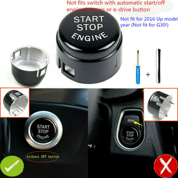 ABS Switch button cover Inner For BMW F20 F30 F10 F01 F48 F16 Replacement Parts Engine Practical image