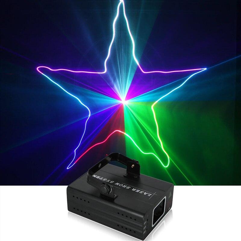 Hot Koop Disco Licht Laser Projector Dj Rgb Laser Licht Dmx Rgb Laser Podium Verlichting Voor Disco Xmas Party Laser Discoteca