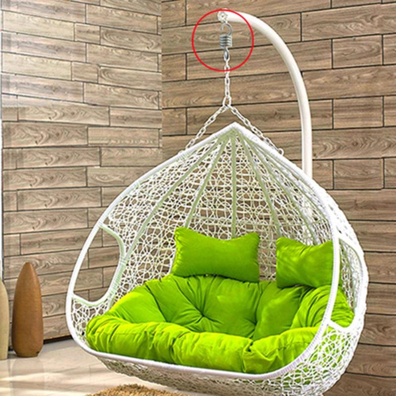 300kg Weight Capacity Sturdy Steel Extension Spring For Hammock Swing Chair Spring For Garden Suspension Swing Hanging Accessory