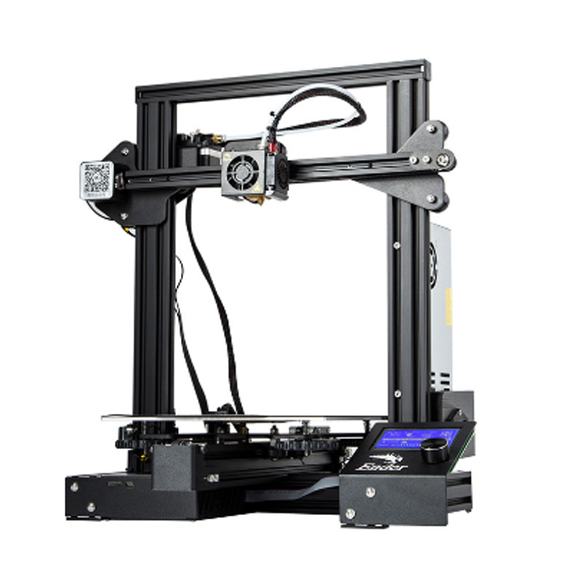 CREALITY Ender 3D Printer Ender-3 / Ender-3 PRO DIY KIT MeanWell Power Supply /for 1.75mm PLA ABS PETG TPU/shipping from Russia
