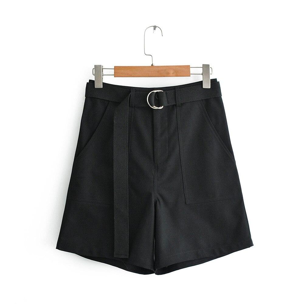 Fashion Shorts Women Sexy Biker Shorts  Gray Fitness Korean Casual Sexy Short Cotton  Black