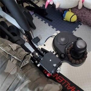 Image 5 - Per Playseat Sfida Sedia G25 G27 G29 G920 Del Cambio Shifter Supporto di Montaggio Staffa Per Logitech TH8A G25 G27 G29 G920
