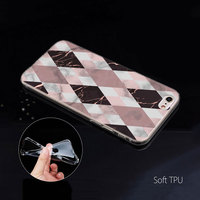 case iphone 5 Geometric Marble Case for Apple iphone 11 Pro X XS Max XR 7 8 6 6S Plus + 5 S SE 5C Silicone Carcasa Phone Coque Cover (4)