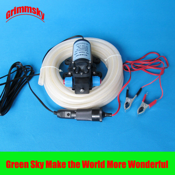 6L/Min dc 70W with on/off button and dc jack vehicle mounted kits oil pump 12v electric