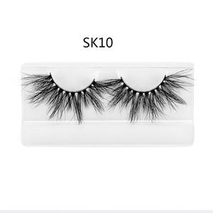 Image 5 - 1 par de pestañas largas y esponjosas Dramtic de 25MM, pestañas postizas 3D, pestañas postizas, extensiones de pestañas, herramientas de maquillaje