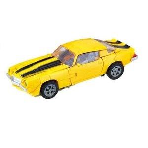 Image 1 - סטודיו סדרת צהוב רכב SS01 פעולה איור צעצועים קלאסיים לבנים ילדי ללא תיבה הקמעונאי