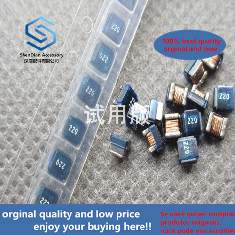 50pcs 100% Orginal New FHW1008IF220KST Ferrite Patch Wire Wound Inductor 1008 2520 22uH 105mA
