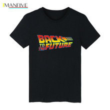 Back to the Future T-shirt Men/women Classic Movie Series Cotton Mens Personality Creative Novelty