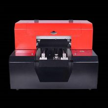 Glas Metalen Uv Printer A4 Flatbed 3D Geweven En Verhoogde Printing Plastic Lederen Pvc Aluminium Koper Coaster Print(China)