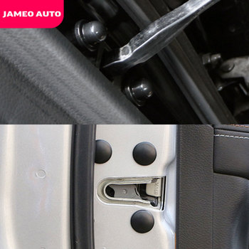 Car Door Lock Screw Protector Stickers for Renault Koleos Fluenec Kangoo Latitude Sandero Kadjar Captur Talisman Megane RS image