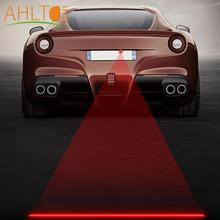 цена на 1Pcs Anti Collision Rear-end Car Laser Taillight 12V LED Car Fog Lights Auto Brake Parking Lamps Warning Light For Car Styling