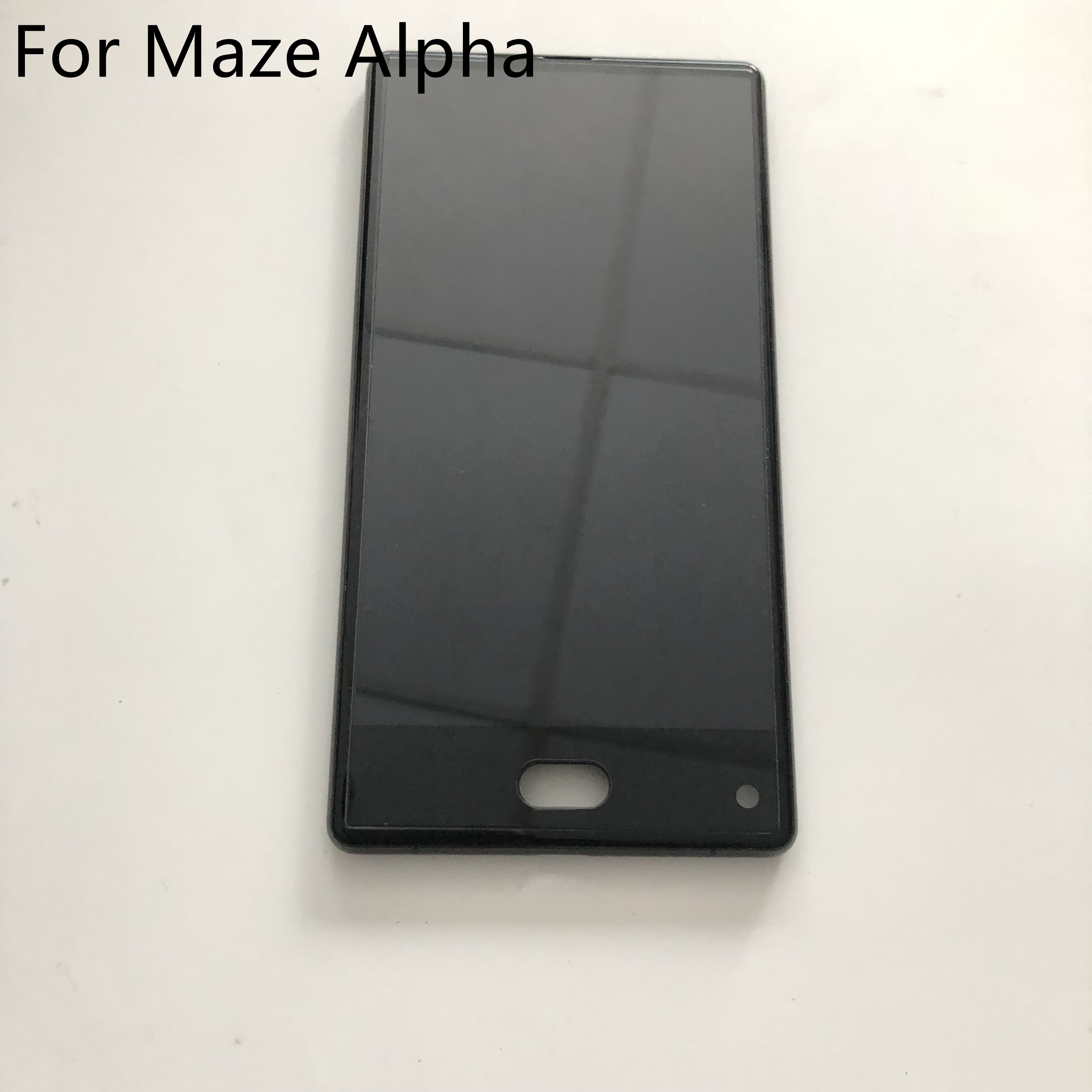 "Used LCD Display Screen + Touch Screen + Frame For MAZE ALPHA Helio P25 2.5GHz Octa Core 6.0"" 2.5D FHD 1920x1080 Smartphone"