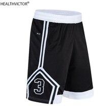 Спортивные мужские баскетбольные шорты с карманами, длина до колена, полосатые мужские летние дышащие повседневные штаны для бега