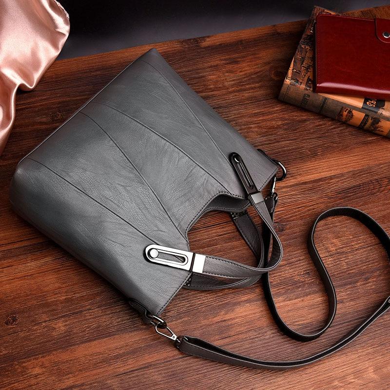 Image 5 - HOT SALE Women Shoulder Messenger Bag Luxury Leather Handbags  Women Bags Designer Famous Brand Female Crossbody Bags Sac A  MainShoulder Bags