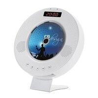 Ams montado na parede leitor de cd surround som dvd player de alta fidelidade rádio fm bluetooth leitor de música portátil suporte de controle remoto usb tf|Reprodutor de MP3| |  -
