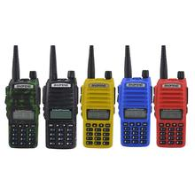 рации Baofeng-BF-UV82 5W 400-520MHz Walkie Talkie מכשיר קשר Outdoor Handheld Dualband Two Way FM Radio Рация Walkie-talkie niño