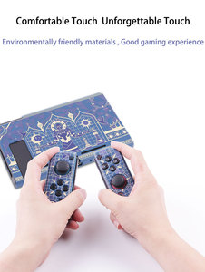 Image 5 - For Nintend Switch Protective Shell Silicone Game Console Split Soft Case Cover Ns Tarot Chess Theme Handle Set Accessories