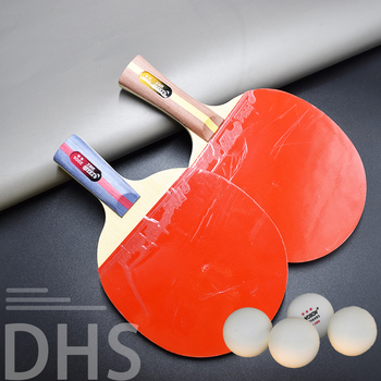 Quality Table Tennis Bat Racket Double Face Pimples In Long Short Handle Ping Pong Paddle Racket Set with Bag 2 Balls 2pcs ping pong racket table tennis blade long short handle pingpong bat set with 3 balls double face pimples in rubber blades