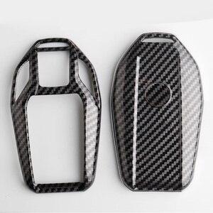 Image 4 - Чехол для ключей из углеродного волокна ABS, дистанционная Защита корпуса для ключей для BMW 6 7 серии 740 6 серии GT 5 530i X3, сумка для ключей, автомобильные аксессуары